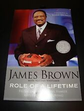 Jim Brown Role Of A Lifetime 2010 Trade Paperback Advanced Copy Cleveland Browns