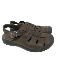 Keen Men's Brown 1461-TOBC Hiking Fishing Outdoor Slip-On Sandals Size 9