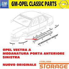 Opel Vectra A Moldura Negro Puerto Delantera Izquierda Nuevo 171005 90429827