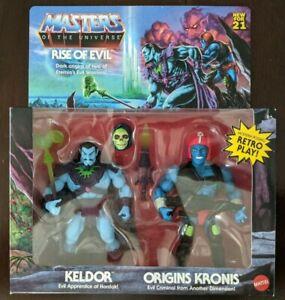 Masters Of The Universe Origins MOTU Keldor Kronis Rise Of Evil 2 Pack TARGET