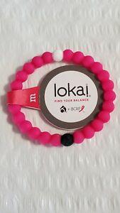 Lokai Pink Bracelet BCRF Medium