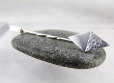 Sterling Silver 925 Diamond Tie Stick Pin/Brooch - Handmade By CMcB Jewellery
