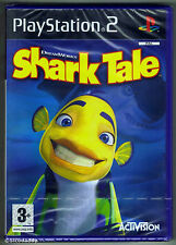 PS2 Shark Tale (2004), UK Pal, New & Sony Factory Sealed