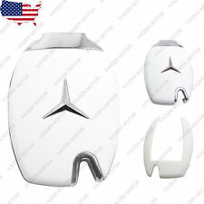 Matte White Smart Remote Keyless FOB Case Skin Shell Cap for Mercedes Benz NEW