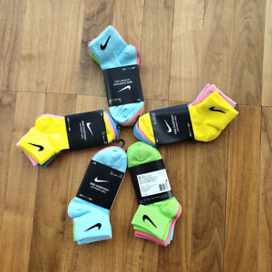 Nike socks everyday lightweight ankle sx7677 100 colorful  38-42(Europe) 6-9 USA