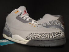ca772b0b8a0c0e 2007 NIKE AIR JORDAN III 3 RETRO LS SILVER RED COOL GREY WHITE BLACK CEMENT  14