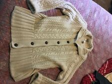 Duluth Trading Women's wool sweater size L new!