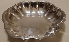 """International Silver Silverplated Chippendale 10.5"""" Diam Serving Bowl #6335 Used"""