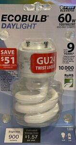 Feit Electric 60-Watt Daylight White EcoBulb CFL with GU24 Twist Lock Base