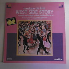 "33T WEST SIDE STORY Film LP 12"" AMERICA TONIGHT BERNSTEIN LEONARD -MUSIDISC 927"