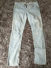 River Island Light Blue Ripped Jeans. Size 10R.