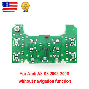 New Multimedia MMI Control Circuit Board for Audi A8 A8L S8 2003 2004 2005 2006