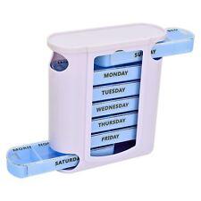 7 Days Weekly Daily Pill Box Organizer Tablet Medicine Storage Pills Dispenser