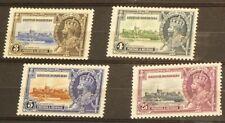 1935 British Honduras 4 Stamps MLH #5322