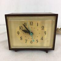 GE General Electric Model 7271 Vintage USA Made Electric Alarm Clock