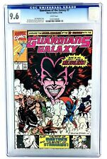 GUARDIANS OF THE GALAXY #7 CGC 9.6 NM+ 1ST MALEVOLENCE 1990 MARVEL