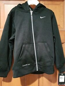 Nike Therma Fit Youth Full-Zip Hoodie Jacket Size 7 (NEW)