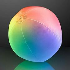 """Light Up Beach Ball With Color Changing LED Lights Toys """" Games Balls Outdoor &"""