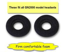 Jabra GN Netcom GN2000 Series Headset NEW Foam Ear Cushion (2 Pack) P/N 14101-04