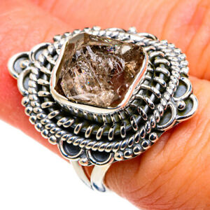 Herkimer Diamond 925 Sterling Silver Ring Size 5.75 Ana Co Jewelry R79435F