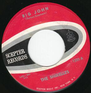 """THE SHIRELLES - Big John 7"""" 45"""