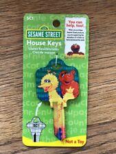 Big Bird & Snuffy S4 Schlage SC1 1145 Key Blank
