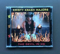 KRISTY KRASH MAJORS - The Devil In Me CD Like NEW 10 Tracks Glam Rock PBF