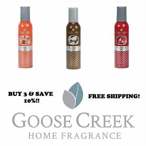 ☆☆YOU PICK☆GOOSE CREEK ROOM SPRAYS☆☆FREE  SHIPPING☆BUY 3 & SAVE 10%