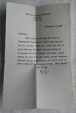 Sarcastic Love Letter from 1942 on The General Theological Seminary letterhead