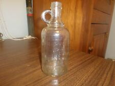 White House Vinegar 1909 Glass Jug Jar Container 1 Pint Screw top Nice Condition