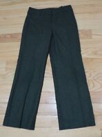 Ann Taylor Brown Wool Silk Blend Lined Women's Pants Size 2 X 29