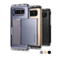 """NEW"" SPIGEN ""Samsung Galaxy NOTE 8 Crystal Wallet  Phone Case-Freeship&Tracking"