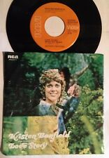 Kristen Banfield 45 Love Story (Where Do I Begin) / (You And Me Baby) PROMO w/PS
