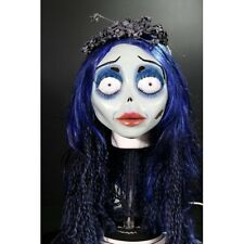 Official Corpse Bride Deluxe Emily Mask with Veil Hair & Eye Lashes Halloween