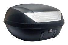 S-Line Top Case 52L Noir Mat 58x45x32.5cm (2 Casques) Platine et Poignée