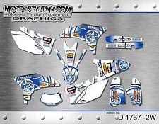 Yamaha WR450f 2012 up to 2015 graphics decals kit Moto StyleMX