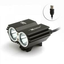 5000LM Solarstorm CREE XM-L T6 LED 4-Modes Bicycle Headlight Bike Lamp With USB