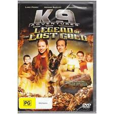 DVD K9 ADVENTURES: LEGEND OF THE LOST GOLD Luke Perry Dog Family REGION 4  [BNS]