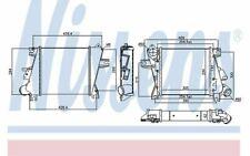 NISSENS Intercooler pour NISSAN X-TRAIL 96527 - Pièces Auto Mister Auto