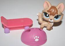 LITTLEST PET SHOP 673 TAN AND BROWN FOX TEARDROP EYES LPS Accessories