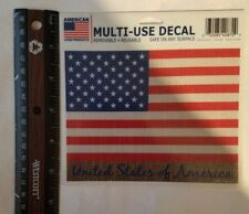 MULTI-USE DECAL(U.S.A. FLAG)|BRAND NEW|FREE SHIPPING TO USA|USA SELLER|