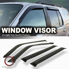Toyota 4Runner 96-02 Smoke Window Vent Sun Side Shade Acrylic Rain Guard Visors