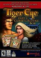 Tiger Eye Curse Of The Riddle Box - PC/Mac - Video Game - VERY GOOD