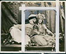 1924 Ruth St Denis & Ted Shawn Costumed For Algerian Drama Dancers Photo 8X10