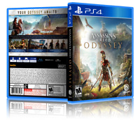Assassins Creed Odyssey - Kassandra  - ReplacementPS4 Cover and Case. NO GAME!!