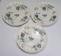 "3 Johnson Bros Brothers Day in June Dinner Plates 9 3/4"" UNUSED"