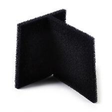 2pcs Black activated carbon filtration Foam Sponge Air Filter Pad Square 13X13cm