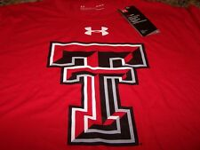 Under Armour Ua Texas Tech Red Raiders S/S Shirt Scarlet Men's Large ~ Nwt $33