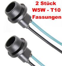 2x W5W T10 Gummi Sockel Glassockel Fassung Standlicht Parklicht Stecksockel T10G