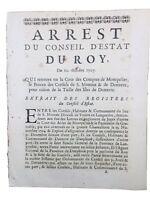 Donzère en 1707 Drôme Saint Montan Ardèche Îles du Rhône Dauphiné Occitanie